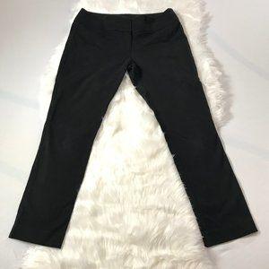 Ann Taylor Loft Marisa Ankle fit black pants, sz 8